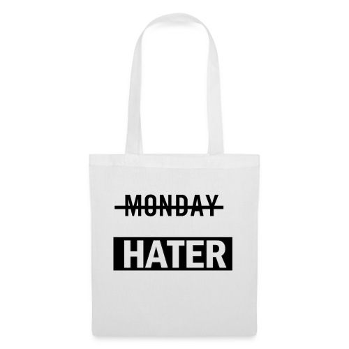 monday hater - Tote Bag