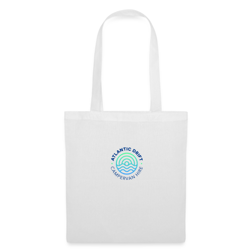 Atlantic Drift Logo (Blue) - Tote Bag