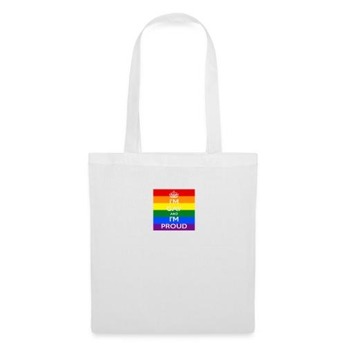 Proud gay - Tygväska