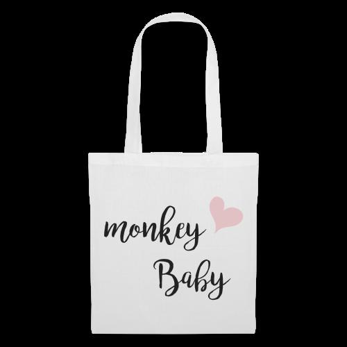 monkey baby - Stoffbeutel