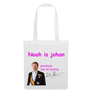 Noah is een echte Johan - Tas van stof