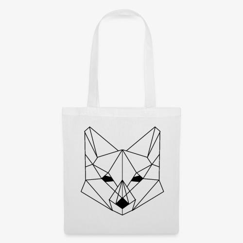 Geometrischer Fuchs - Stoffbeutel