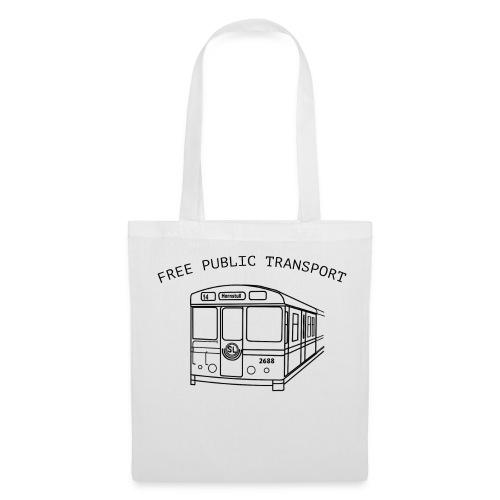 FREE PUBLIC TRANSPORT - Tygväska