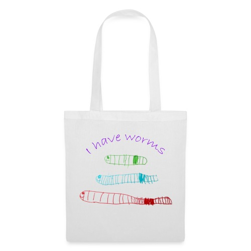 I have worms - Tote Bag