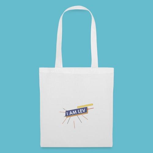 I AM LEV Banner - Tas van stof