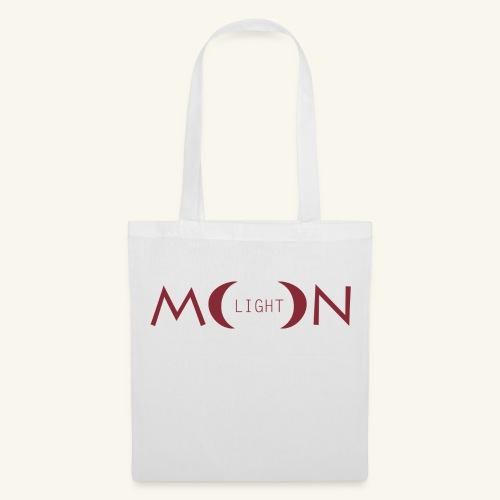 MoonLight bourdeaux - Borsa di stoffa