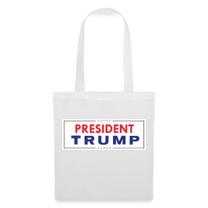 President Trump (White) - Tote Bag