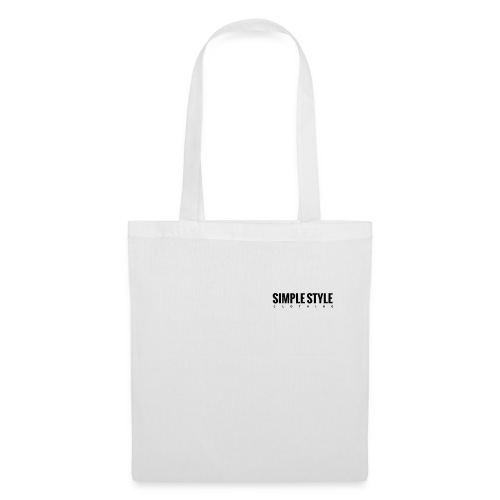 Simple Style Clothing Small Logo - Stoffbeutel