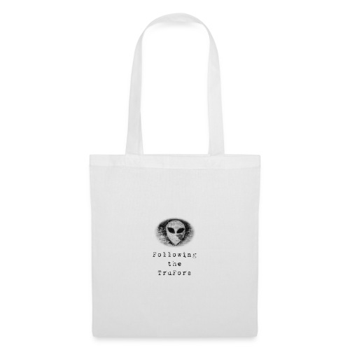 Following the TruFors Alien Head - Tote Bag