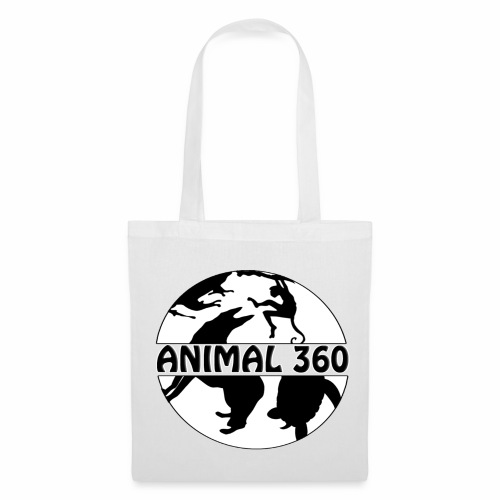 Logo Animal 360 version simple - Tote Bag
