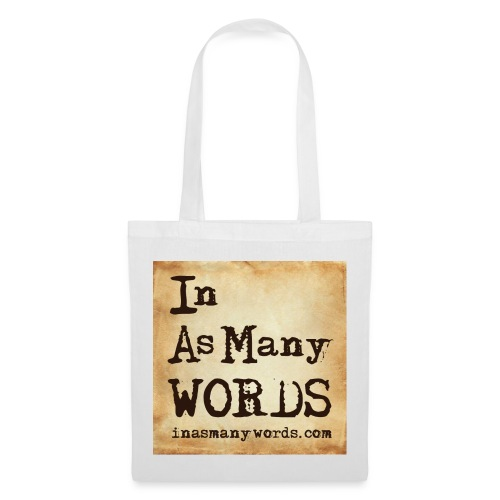 I AM Words LOGO_Brown - Tote Bag