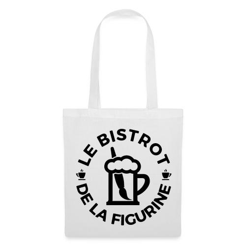 Logo noir classique - Tote Bag