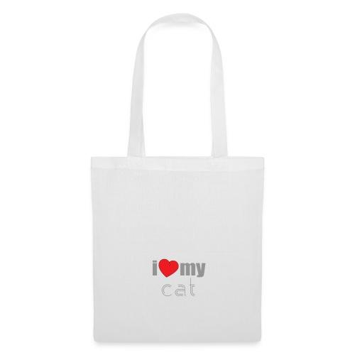 i love my cat - Tote Bag