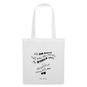 A_Lie-- - Tote Bag