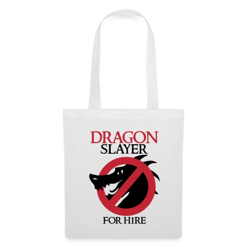 Dragon Slayer for Hire - Tote Bag