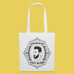 No Beard No Pain - Tote Bag
