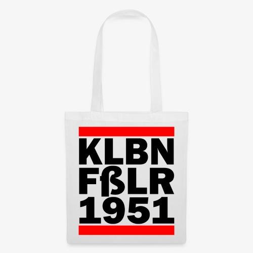 GUEST KLBNFßLER 1951 black - Stoffbeutel