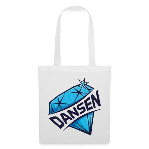 Dansen Logo Full Print - Stoffbeutel