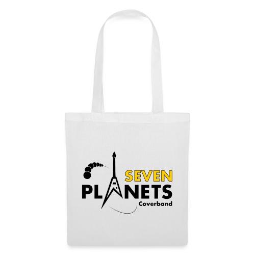Seven Planets Logo - Stoffbeutel