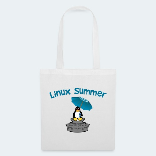linux summer - Borsa di stoffa