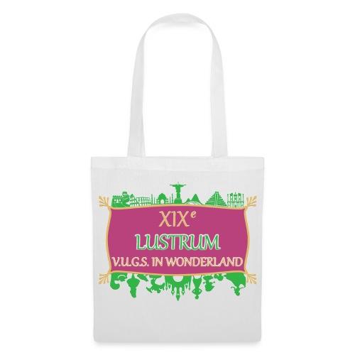 lustrum logo kleur Transparant - Tas van stof
