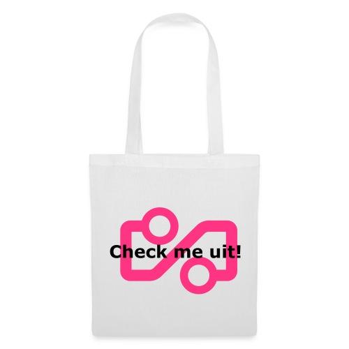 Check me Uit! - Tote Bag