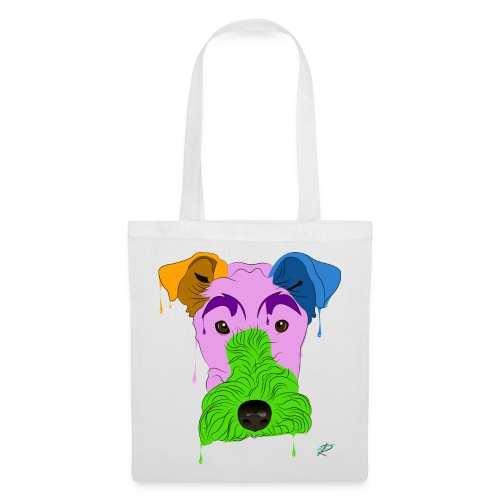 Fox Terrier - Borsa di stoffa
