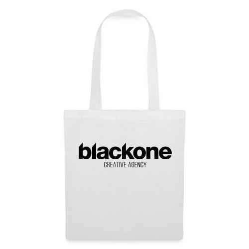 Camiseta negra blackone - Bolsa de tela