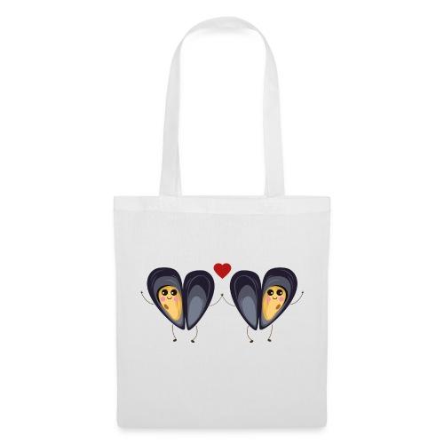 Les deux petites moules amoureuses - Tote Bag