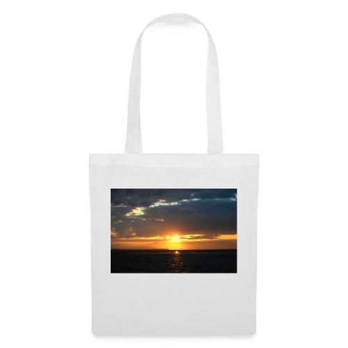 t-shirt zonsondergang - Tas van stof