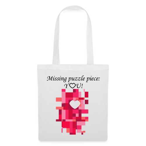 Missing puzzle piece: You - Stoffbeutel