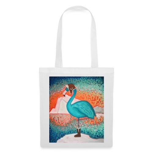 Le Flamant bleu - Tote Bag