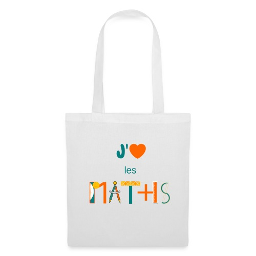 J'aime les MATHS - Tote Bag