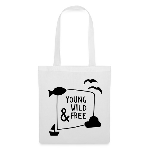 Young Wild Free – Baby - Stoffbeutel
