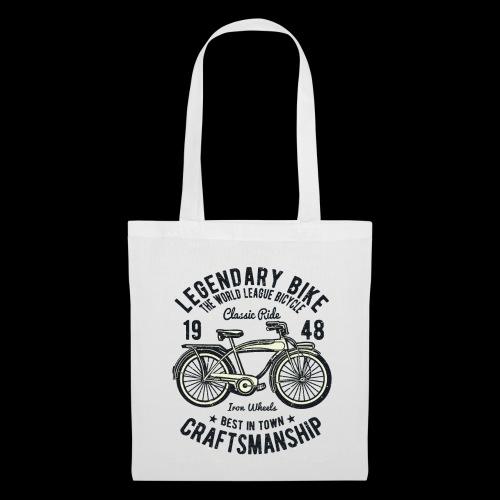 Legendary Bike - Radfahren oldschool - Stoffbeutel