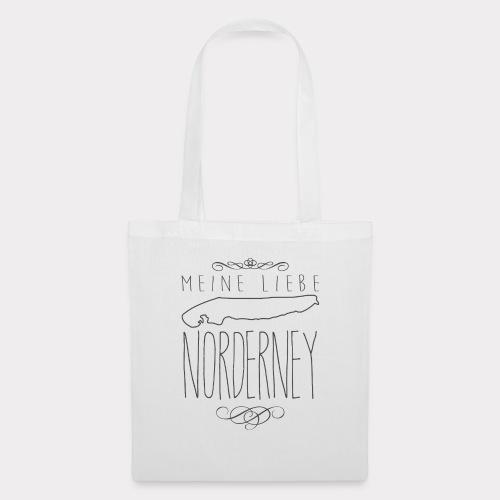 Meine Liebe Norderney - Stoffbeutel