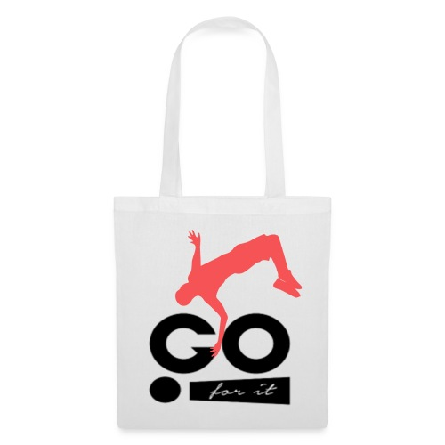 Design sportif et motivant GO FOR IT - Tote Bag