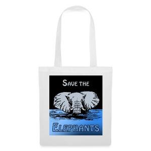 Save The Elephants - Stoffbeutel