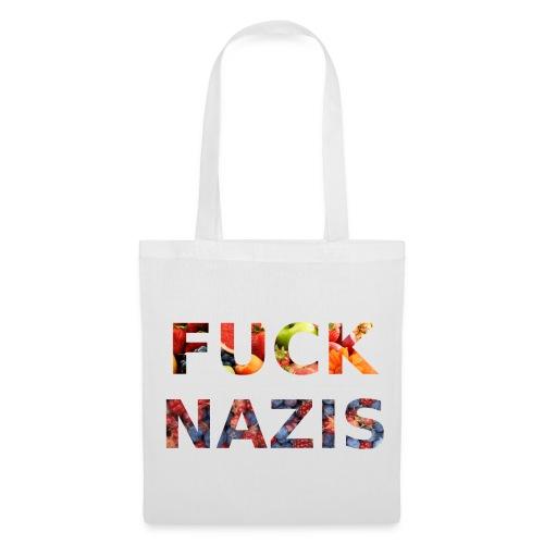 Fuck Nazis with Fruits - Stoffbeutel