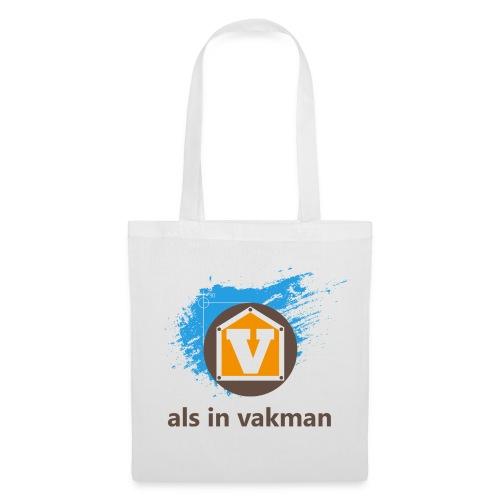 V als in Vakman - Tas van stof