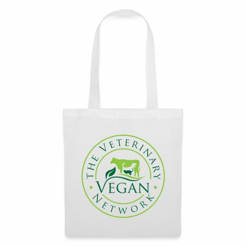 Veterinary Vegan Network Logo - Tote Bag