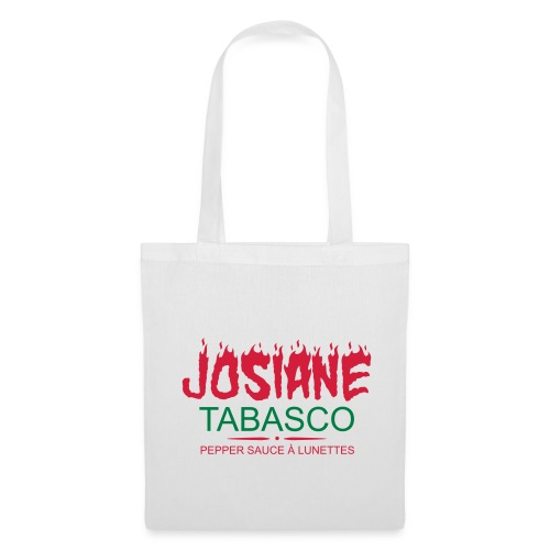 josiane tabasco - Tote Bag