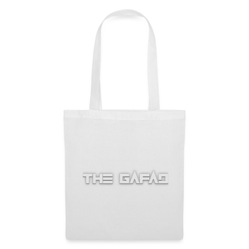 The Gafad - Official White Logo - Borsa di stoffa