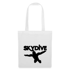 Skydive Silhouette - Stoffbeutel
