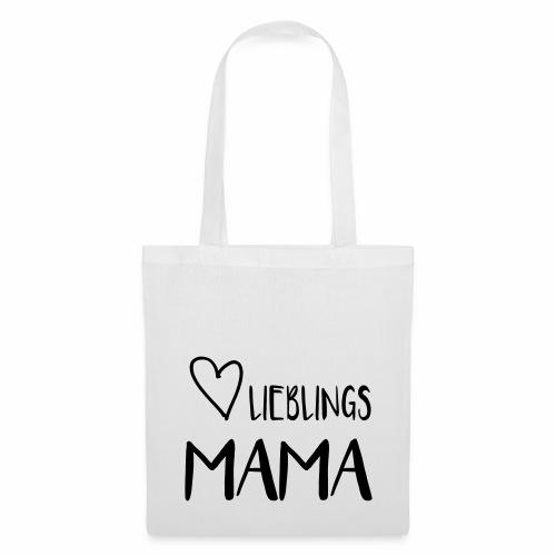 Lieblings MAMA - I heart Mama - Stoffbeutel