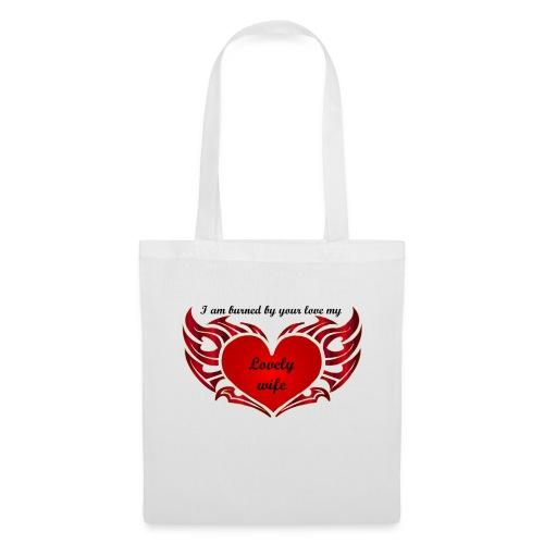 Ton amour m'enflamme le coeur - Tote Bag