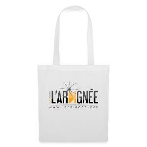 L'ARAIGNÉE, logo noir - Tote Bag