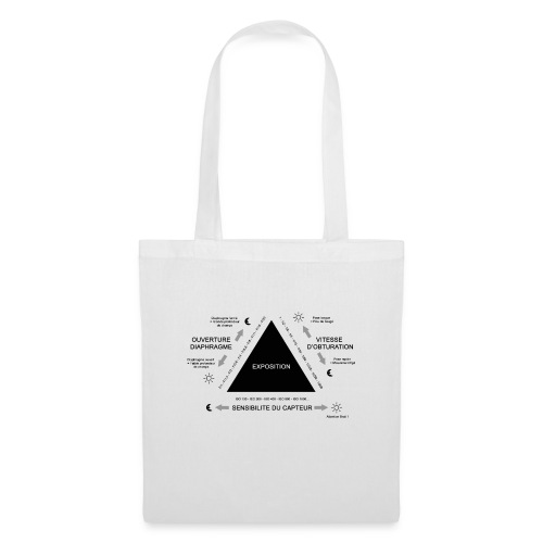 TRIANGLE D'EXPOSITION - Tote Bag