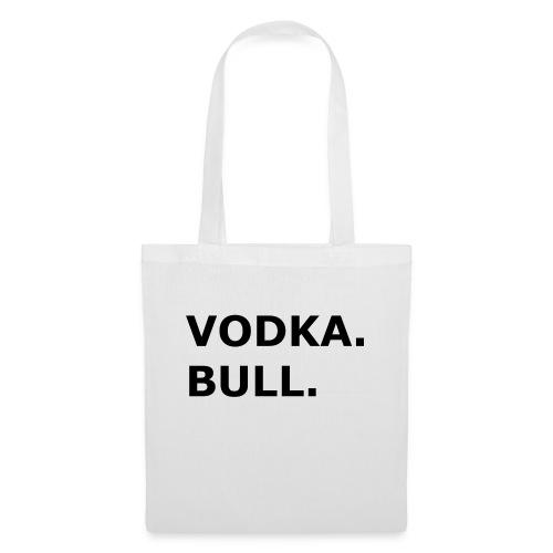 Vodka Bull Schwarz - Stoffbeutel
