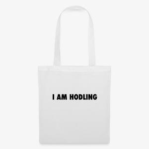 I AM HODLING - Tas van stof